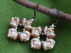piggy beads earrings by aleka