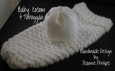Baby Cocoon w/ Toboggan *Directions Added - Knifty Knitter - Cricut Forums