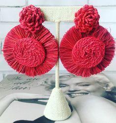 Vintage Womens Boho Hippy Fashion Party/ Iraca Earrings/Handmade/Jewelry /Ar    eBay Earrings Handmade, Handmade Jewelry, Unique Jewelry, Hippy Fashion, Handmade Products, Hippie Boho, Jewelry Ideas, Vintage Ladies, Crochet Earrings