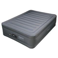 Lustrous Air Mattress with Memory Foam Mattress Topper
