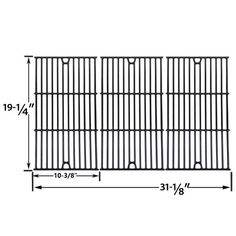 Grillpartszone- Grill Parts Store Canada - Get BBQ Parts,Grill Parts Canada: Sterling Forge Gloss Cast Iron Cooking Grid