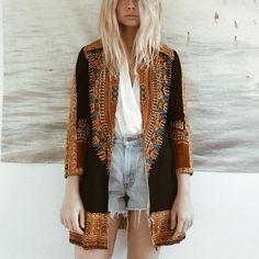 Seventies Patterned Jacket