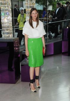 Jenna Lyons. Love the shoes.