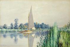 Stephen John Batchelder (British, 1849-1932) 'Calm and Quiet - Horning Church'