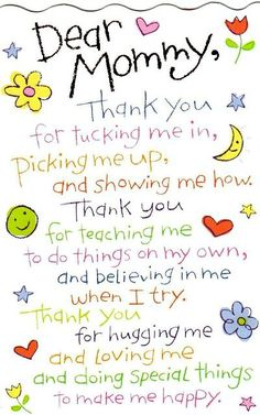 Poem to mommy, letter to mom, Happy mothers day quotes from daughter, Best messages on mommy from beloved daughter.Happy mothers day quotes from son mom wishes Mothers Day Poems, Happy Mother Day Quotes, Mothers Day Crafts For Kids, Funny Mothers Day, Mothers Day Cards, Mothers Love, Fathers Day, Mothers Day Saying, Mom Poems