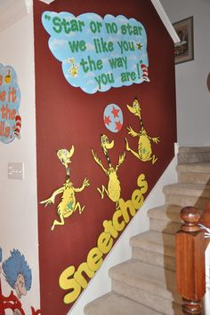 """""""Star or no star, we like you the way you are!"""" - The Sneetches"""