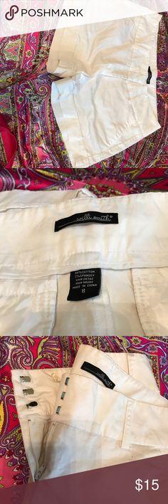 White shorts WS White shorts Willi Smith Shorts