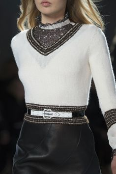 Rodarte at New York Fashion Week Fall 2015 - Details Runway Photos