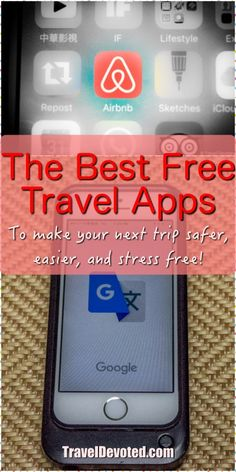 Travel Apps can make things so much easier, safer, and cheaper for your next trip abroad. Here are our favorite travel apps and travel tips on using them!
