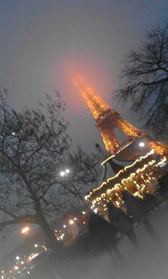 Torre Eiffel. Foto ricordo by fan © Paola Tizi Temple Gardens, Twisted Tree, Koi, Climbing, Tours, River, Places, Outdoor, Tour Eiffel