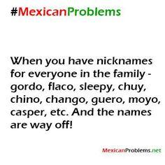 Chicano nicknames