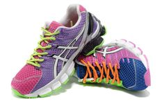 Womens Asics Gel Kinsei 4 Polychrome!$78.40USD
