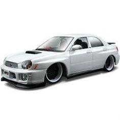 Maisto 1/24 Subaru Impreza Wrx Custom Shop - Maisto