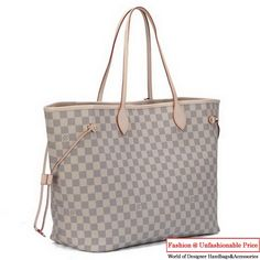 e11b6747f489 Louis Vuitton Damier Azur Canvas Neverfull GM N51108 Louis Vuitton Hat