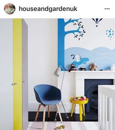 Boys Nursery   Blue and Yellow Nursery   #BoysNursery   #BlueandYellowNursery