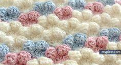 crochelinhasagulhas: Ponto de crochê (pipocas)