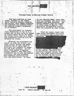 Los americanos sabian que pasaria y como siempre lo ocultaron y la CIA EN 1968