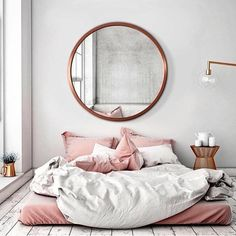 #UOHome Inspo VERY, VERY SIMPLE! - THE BEAUTY  OF THIS GORGEOUS BEDROOM, ACTUALLY COMES FROM ITS' SIMPLICITY! ⚜