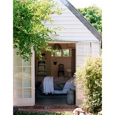 NEW Shed Decor - sallysgardendesign Shed Decor, Home Decor, Chelsea Flower Show, Shelter, Tiny House, Small Spaces, Garage Doors, Relax, Rustic
