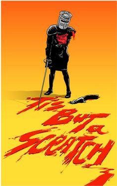 'Tis But A Scratch by @joshuabudich #MontyPython