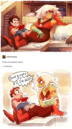 Corrupted Jasper and Steven