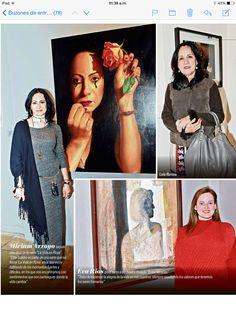 Reportaje en Red Carpet Magazine por la muestra Mujeres Expo Tour 2014