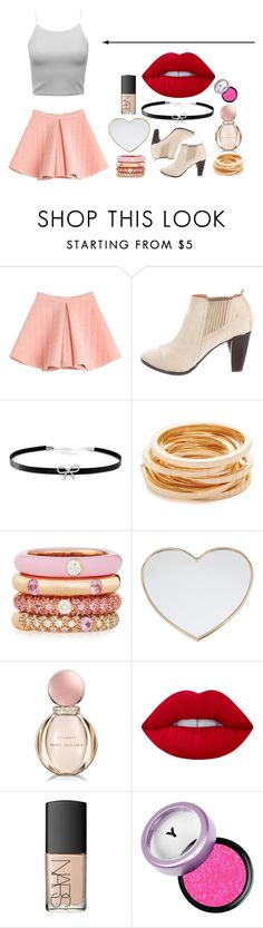 """""""Untitled #21"""" by twist3d-ang3l on Polyvore featuring Marina Hoermanseder, COSTUME NATIONAL, Giani Bernini, Kenneth Jay Lane, Adolfo Courrier, Gucci, Bulgari, Lime Crime and NARS Cosmetics"""