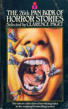 Yum Yum! The 26th Pan Book Of #Horror Stories (1985). Cover by Steve Crisp.