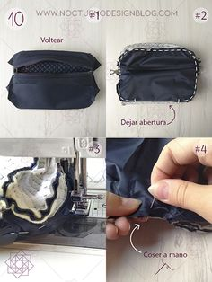 aro Design Blog, Lunch Box, Sewing, Wallets, Pattern, Bags, Fashion, Handmade Bags, How To Make Purses