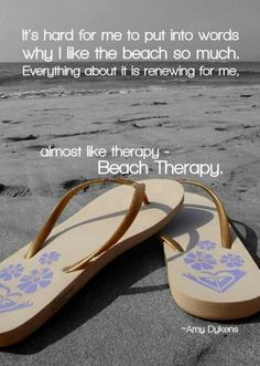 Beach Therapy Quote by JAMART Photography Beach life and cute thongs. The post Beach Therapy Quote by JAMART Photography appeared first on Urlaub. I Love The Beach, Summer Of Love, Summer Fun, Summer Things, Pink Summer, Beautiful Beach, Summer Beach, Summer Days, Beach Bum