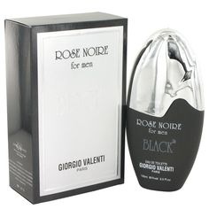 Rose Noire Black By Giorgio Valenti Eau De Toilette Spray 3.3 Oz