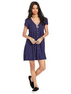 Star-Print Button-Front Dress - Denim & Supply  Short - RalphLauren.com