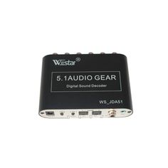 >> Click to Buy << Wiistar 5.1 CH audio decoder SPDIF Coaxial to RCA DTS AC3 digital to 5.1 Amplifier Analog Converter for PS3,DVD player, Xbox #Affiliate