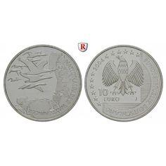 Bundesrepublik Deutschland, 10 Euro 2004, Wattenmeer, J, bfr., J. 507: 10 Euro 2004 J. Wattenmeer. J. 507; bankfrisch 20,00€ #coins
