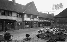 Photo of Farnham, Lion And Lamb Courtyard 1934 Lion And Lamb, Local History, Surrey, Street View
