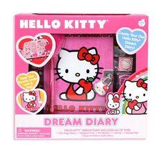 Hello Kitty Dream Diary Kit by Hello Kitty f249110da28