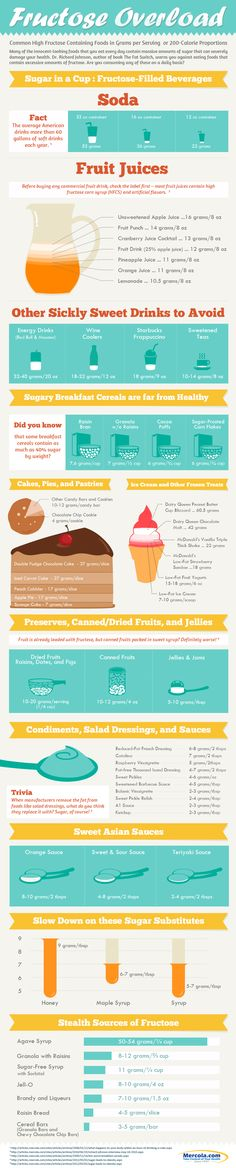 Fructose Overload Infographic