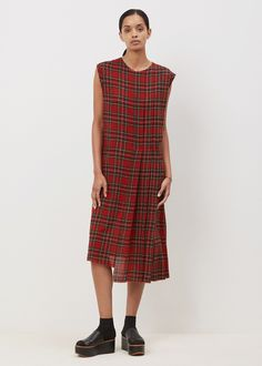 R13 Slouch Kilt Dress (Royal Stewart)