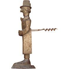 antique corkscrew!