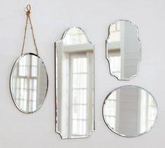 Vintage Mirror Collages