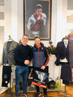 💚❤️ Winner Winner 💚❤️  Pictured here is Brendan Mc Nulty all the way from County Mayo who was the lucky winner of our 2 for €99 deal which is still running in store with a selection of jeans, shirts, and knitwear.  A perfect option for a couple of Christmas pressies 😁  Don't forget we stay open tonight Thursday until midnight for all your late night shopping needs 👌🏻 County Mayo, Competition Time, Winner Winner, Late Nights, All The Way, Don't Forget, The Selection, Thursday, Knitwear