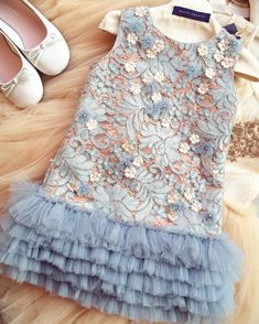Gorgeous details of the little snowflakes dress ❄️❄️❄ kidsfashion girl flowergirl fashion kidsstyle babygirl newarrival collection kidsdress flowergirl Little Dresses, Little Girl Dresses, Toddler Dress, Baby Dress, Baby Tutu Dresses, Tulle Dress, Little Girl Fashion, Kids Fashion, Dress Anak