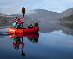A Boat in Your Bag: Packrafting. Weighs about 5 pounds, truly packable. Something for the bug out bag
