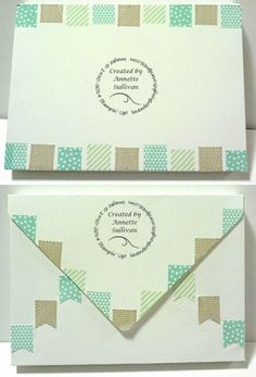 Lavender Thoughts Stampin' Up! Banner Blast Envelope Box using Envelope Punch Board