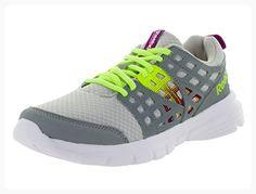 Reebok Women's Speed Rise Steel Grey/Fuchsia/Yllow Running Shoe 9 Women US (*Partner Link)