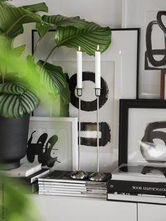 Hejdå minimalistiska hem, hej maximalism och art deco influenser! HASSELNÖT kruka, STOCKHOLM ljusstakar. Frida Ramstedt, Trendenser, för IKEA Livet Hemma.