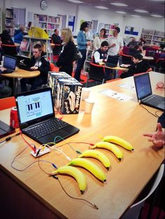 Great event: Spot me teaching code RT @mj_bromley: The banana piano makes a reappearance at @StudioCollege Digifest. pic.twitter.com/j4wncNGVHk