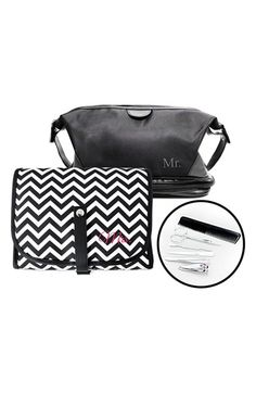 CATHY'S CONCEPTS 'Mr. & Mrs.' Travel Bag Set available at #Nordstrom