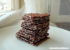 DSC00289 (Medium) Krispie Treats, Rice Krispies, Quinoa, Raw Food Recipes, Protein, Deserts, Low Carb, Vegetarian, Cookies