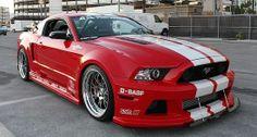 2013-2014 Mustang Widebody Kit NEW http://www.bangastang.com/2013-2014-mustang-widebody-kit.htm